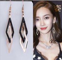 7 étoiles boucles d'oreilles de mode goujon de mode Tassel longs propices à la collecte sociale de la fête Charme Bijoux Bijoux Ohrringe Mariage Brendy