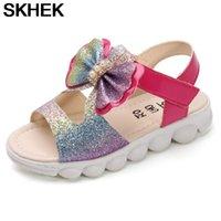 SKHEK Summer Girls Shoes Boys Girl Croxes Sandals Children's Shoes Flower Casual Single Princess Sandals