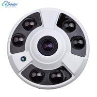 카메라 CCTV 카메라 아날로그 금속 돔 Vandalproof IR 야간 투시경 1.56mm 렌즈 360도 파노라마 1080P