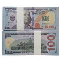 Dólares Propista al por mayor Fake NightClub 100 Bar Atmósfera Movie Dollars Crafts Billet Faux Calidad Money Money VJFHS Play Top Money Bill Wodx
