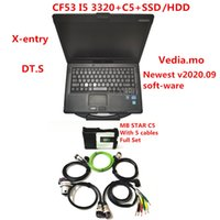 MB Star SD Connect C5 with newest soft-ware 2020.09 diagnostic tool mb star c5 ve.diamo X-entry DT.S with CF53 Laptop