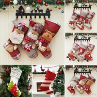 Christmas Stockings Santa Socks Gifts Children' s Candy ...