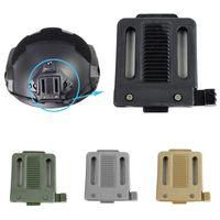 Airsoft al aire libre Paintball Shooting Tactical Airsoft Accesorio de casco rápido de Airsoft Adaptador de montaje NVG para casco rápido Vas Shroud No01-109