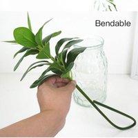 الاصطناعي وهمية البلاستيك الأخضر النبات ديكور زهرة محاكاة النباتات الفروع banyan kapok أوراق pvc شجرة الجدار الديكور إجازة