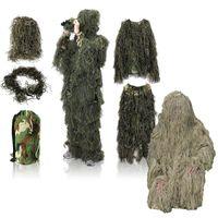 야외 정글 사냥 의류 새킹 정장 카모 스나이퍼 유니폼 전술 위장 의류 Ghillie Suit No05-300