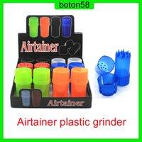 Najnowszy AirTainer 2 w 1 ziołowy szlifierka ziołowa zioła tytoń magazynowa akrylowa styl butelki pięć kolorów
