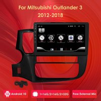 2 جرام + 32 جرام الروبوت 10 الوسائط المتعددة فيديو لاعب الملاحة GPS ل ميتسوبيشي أوتلاندر 3 GF0W GG0W 2012-2021 سيارة راديو سيارة دي في دي