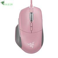 Razer Basilisk Gaming Mouse Mouse 64000/16000 DPI 5G Оптический датчик CHROMA RGB FPS настраиваемое колесо прокрутки сопротивление проводной мыши LJ201006