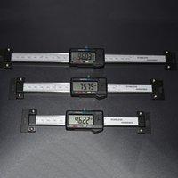 150mm Vernier Штангенциркуль из нержавеющей стали Цифровые горизонтальные масштабы горизонтальные электронные ЖК-дисплей дюйма / мм инструменты Machinist T200602