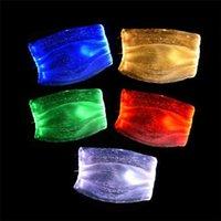 Mode glühende Maske mit PM2.5 Filter 7 Farben leuchtender LED-Gesichtsmasken für Weihnachtsfest-Festival Maskerade Rave Maske Dekoration OWF2566