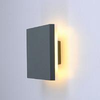 Lampade da parete a LED Aree esterne Aree esterne, impermeabili IP65, per giardino Decorativo Corridoio di illuminazione ACC85-265V KHY15