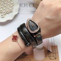 Jeu de jonces de serpents cool Montres Femmes Fashion Infinity Bracelet Montre Vogue Girls Marque Marque Clock Religios Reloj Montre Femme NW404 201118