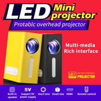 T300 미니 휴대용 비디오 프로젝터 LED 프로젝터 비디오 홈 시네마 영화 게임 시네마 사무실 비디오 프로젝터 HDMI 1080P Beamer