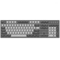 Tastiere Durgod 104 k310 retroillit Keyboard meccanico Cherry MX Interruttori PBT Doppi Keycaps Brown Blue Black Red Silver Switch1
