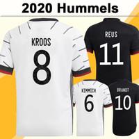 2020 Draxler رجل لكرة القدم الفانيلة هاملات كروس المنزل الأبيض بعيدا أسود كرة القدم قميص المنتخب الوطني فيرنر بواتينغ زي قصير
