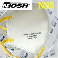 N95 국립 산업 안전 보건 연구소 (NIOSH) 마스크 미국 화이트리스트 최고 품질 디자이너 얼굴 재사용 5 층 dustroof 머리띠 KN95 안티 - 안개 안개와 인플루엔자 마스크