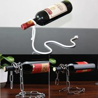 3 styles Creative Wine Bottle Racks Handmade Plating Process...