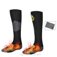 21 Термические хлопчатобумажные носки с подогревом спортивные лыжные носки зимняя ножка теплый электрический отопительный носок Съемный и моющийся для мужчин женщин