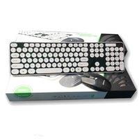 노트북 노트북 맥 데스크탑 PC HK3960 방수 2.4G 무선 키보드 및 마우스 멀티미디어 게임 키보드 마우스 콤보 세트
