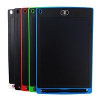 8.5 인치 LCD 작성 태블릿 드로잉 보드 칠판 필기 패드 아이를위한 선물 종이없는 메모장 태블릿 메모 업그레이드 된 펜 5 색