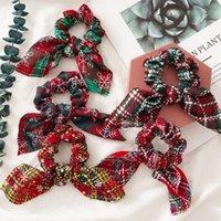 Çiçek Kafa Noel Hediyesi Kadınlar Bant Tavşan Bantlar Scrunchie Paketi Saç bandı Tiara Moda Saç Aksesuarları Parti iyilik DDA722