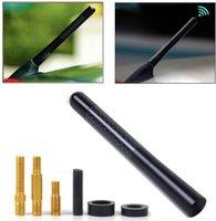 """4.7"""" Universal-Carbon-Faser-Aluminium-Auto AM / FM-Radio-Antenne Antenne mit Schraube"""