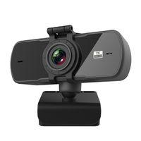 1080P 200W 2K 400W Веб-камера ПК камера с микрофоном Full HD 360 градусов вращения USB веб-камера