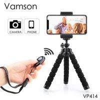 For hero 7 6 5 Vamson Flexible Sponge Octopus Tripod for Huawei Mobile Phone Accessories VP414E