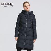 MIEGOFCE Yeni Kış Kadın Ceket Coat Basit Kadınlar Parkas Sıcak Kış Kadın Kat Yüksek Kalite Biyolojik-Aşağı Parkas 201014