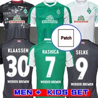 20 21 SV Werder Bremen Soccer Jerseys Accueil 2020 2021 Friedl Klaassen Selke Rashica Bartels Fullkrug Hommes Chemises de football pour enfants