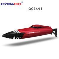 Cymarc RC Boot 2.4 GHz High Speed Electric Funksteuerung Bootfahrzeugmodelle Spielzeug Schiff 25km / h Boot Spielzeug für Kinder