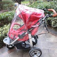 Universal cochecito de bebé a prueba de agua cubierta de la lluvia del cochecito polvo del viento cubierta del protector para los cochecitos de talla universal para caber la mayoría cochecitos k45x #
