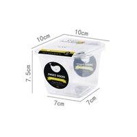 المتاح البلاستيك الشفاف كؤوس القشر مربع بينتو العديد من الطبقات كعكة مربع فاكهي مزيج مربعات التعبئة الجديدة 0 42ly j2
