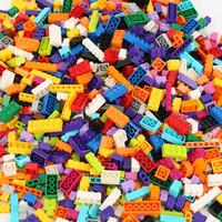 250-1000 Piezas Bloques de construcción Ciudad DIY Ladrillos creativos Modelo a granel Figuras educativas para niños juguetes Compatible con todas las marcas LJ200928
