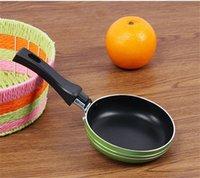 Mini pequena frigideira espessamento espessamento flat pote pessoa única cozinha gadget prático fácil limpar 4 96JQ J3