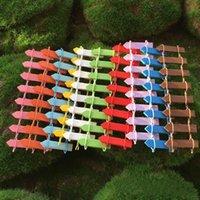 Mini cerca Pequeña barrera Resina de madera Miniatura Decoraciones de jardín de hadas Cercas en miniatura para jardines Pequeñas barreras