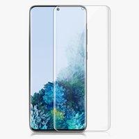 Verre liquide liquide de colle complet UV pour Samsung Note 10 Plus Note 8 9 Protecteur pour Samsung Galaxy S10 S9 S8 Plus S10E
