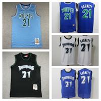 HomensMinnesota.Timberwolves Kevin Garnett Um jersey de basquete para um jogador central; jogadores de balanço costurar e bordar jerseys de basquete.