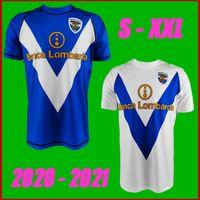 Top Thailand 20 21 Brescia Calcio Soccer Jerseys 홈 블루 2022 Zmrhal Cistana Donnaumma Torregrossa Bisoli 축구 셔츠