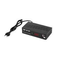 DVB T2 C HD-120 Receptor Satellite Wi-Fi gratuito Caixa de TV digital DVB-T2 H.265 M3U Russo Manual Set Top Box