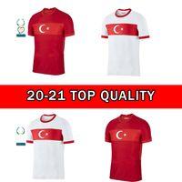 2020 Turquía Euro Soccer Jersey 20 21 Yazici Caglar Söyüncü Demiral Ozan Kabak Calhanoglu Celik Homa Jeave Football Shirts