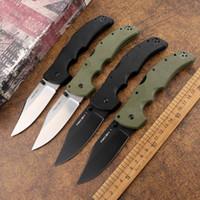 Tattiche all'aperto Brand New Cold Steel Recon 1 S35VN Blade in acciaio G10 Maniglia Camping Caccia Autodifesa EDC Tool Coltello pieghevole