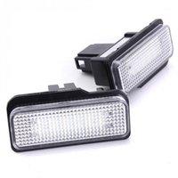 2 шт. Автомобиль светодиодные лицензионные фонари для W211 W203 5D W219 R171 Нет ошибок для белого номера пластины лампы 12V1