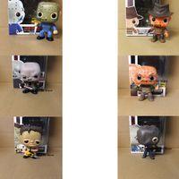 Freitag der 13. Jason Voorhees The Texas Chainsaw Massacre Leatherface Pop mit Box Vinyl Action Figur Halloween Gift 201202