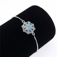 Newest Cubic Zirconia Spider Web Charm Brace with Silver Col...