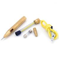 내구성 자동차 자동 전압 회로 전기 테스터 테스트 테스트 펜 연필 프로브 진단 수리 도구 DC 6-12V1