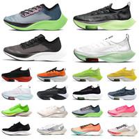 Zoom Alphafly NEXT% Lime Blast  ZoomX VaporFly NEXT% Sneakers da uomo Ekiden Valerian Blue Ribbon Sail Pink Sneakers da uomo Designers sportivi da donna 36-45