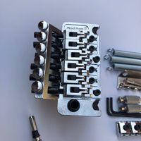 Floyd Rose TREMOLO Puente Sistema Chrome Doble Shake Guitarra eléctrica Placa de cadena