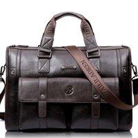 Leinasen Marke Hohe Kapazität Männer Aktenkoffer Business Messenger Handtaschen Männer Taschen Laptop Handtasche Tasche Männer Reisetaschen Highqualität C0121