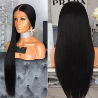 Precucked Full кружевные волосы для волос для волос с детским волосом прямые бразильские прозрачные кружева парик плетеный бессловный полный кружевной парик Remy